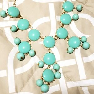 Jewelry - NWT Mint Blue Statement Necklace